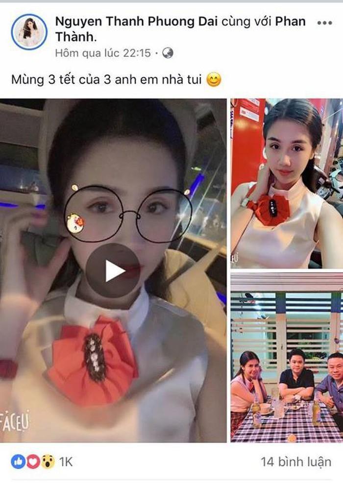 Chia tay bạn gái hotgirl Phan Thành khoe ảnh đi ăn với bóng hồng mới, cả hai thường xuyên thả thính trên mạng xã hội-1