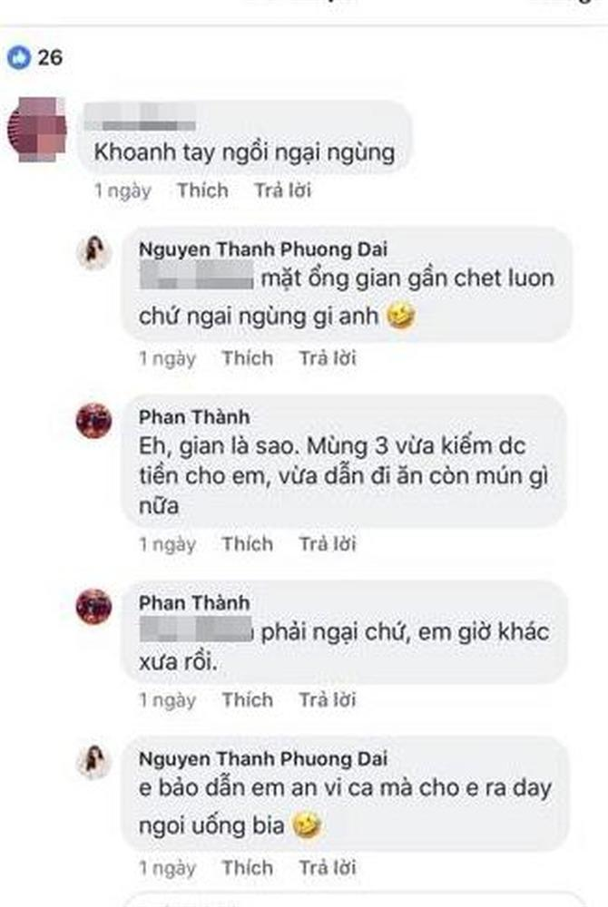 Chia tay bạn gái hotgirl Phan Thành khoe ảnh đi ăn với bóng hồng mới, cả hai thường xuyên thả thính trên mạng xã hội-4