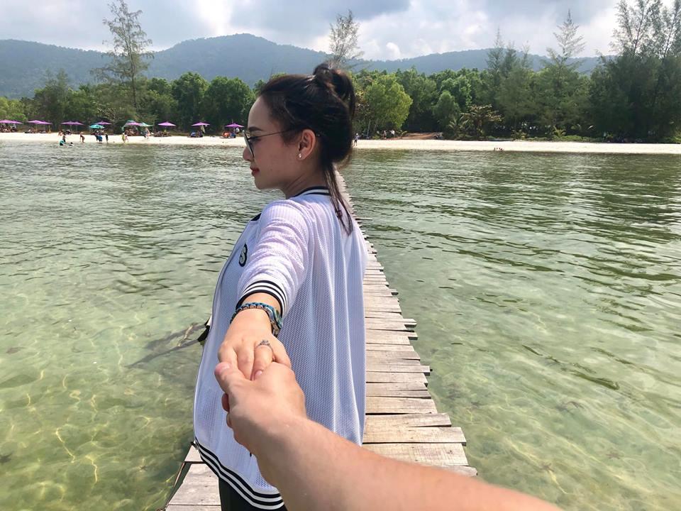 Sau thời gian lẻ bóng nuôi con, vợ cũ Thành Trung có bạn trai Tây và đang sống trong những ngày tháng ngôn tình-7