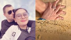 Sau thời gian lẻ bóng nuôi con, vợ cũ Thành Trung có bạn trai Tây và đang sống trong những ngày tháng 'ngôn tình'