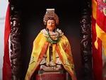Lễ rước kiệu Bà Thiên Hậu đầy màu sắc trên đường phố Bình Dương