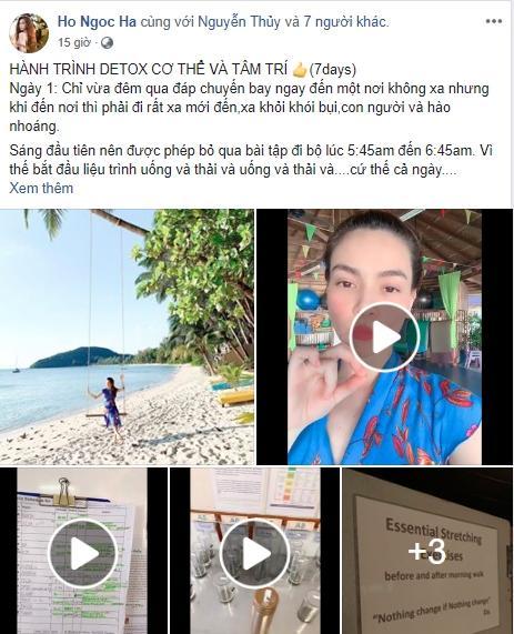 Vừa hết Tết, Hồ Ngọc Hà cùng Kim Lý thực hiện lịch detox cơ thể và tâm trí ngặt nghèo đến đáng sợ-1