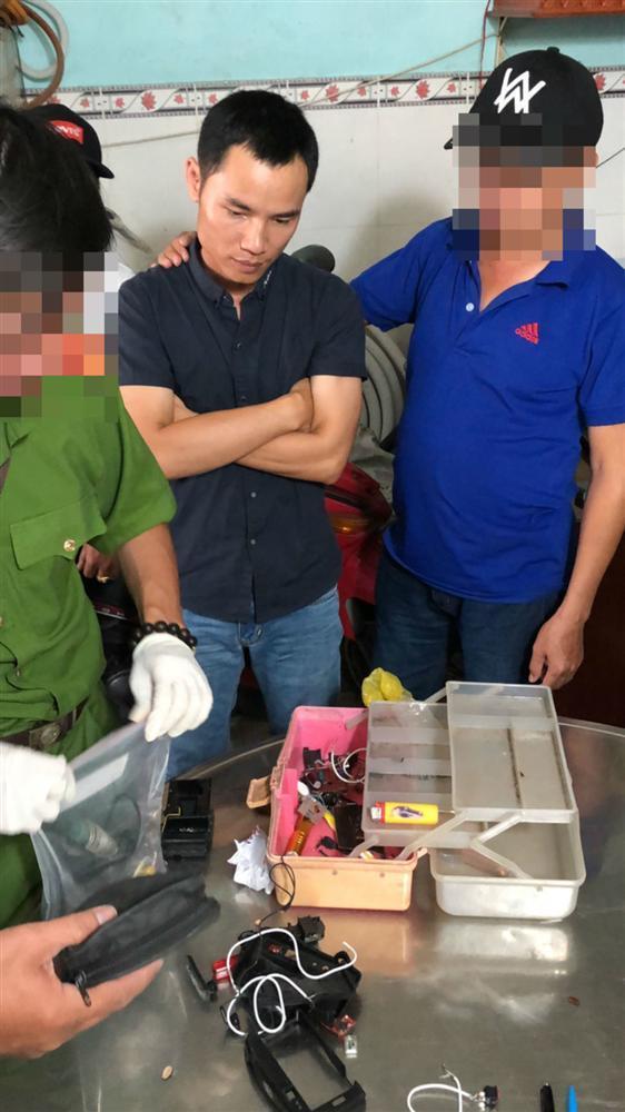 Bắt kẻ gửi quà gây nổ khiến 2 người bị thương ở Sài Gòn-1