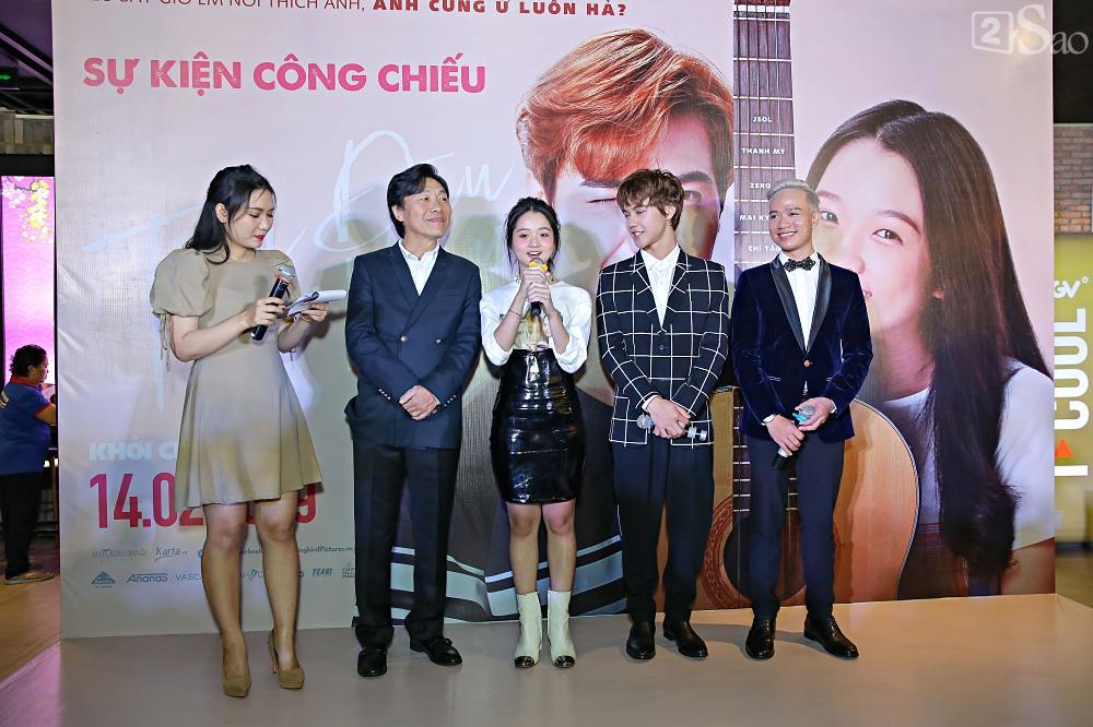 Nhóm nhạc thảm họa Zero9 đóng phim cùng em bé đáng sợ nhất Việt Nam Lâm Thanh Mỹ-8
