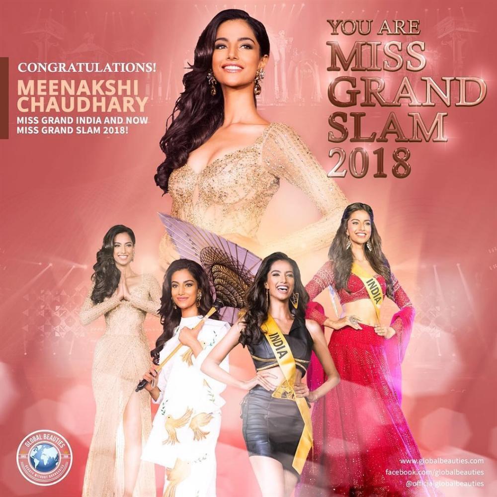 Vượt Miss World lẫn Miss Universe, cô gái Ấn Độ đẹp như tiên lên ngôi Hoa hậu của các hoa hậu 2018-1