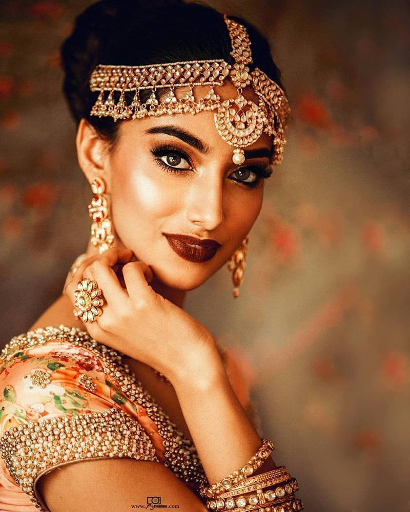 Vượt Miss World lẫn Miss Universe, cô gái Ấn Độ đẹp như tiên lên ngôi Hoa hậu của các hoa hậu 2018-5