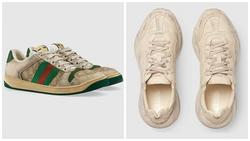 Giày bẩn, giày rách giá cắt cổ tưởng đùa mà thật