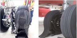 Máy bay VietJet bục lốp sau khi hạ cánh ở Tân Sơn Nhất
