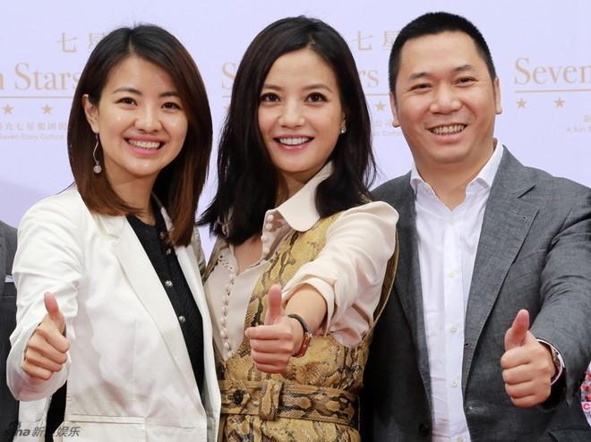Triệu Vy và chồng tỷ phú bị đồn đã ly thân gần một năm-1