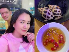 Bà xã Bình Minh kêu trời vì quà Valentine chồng tặng là hai con ốc hương