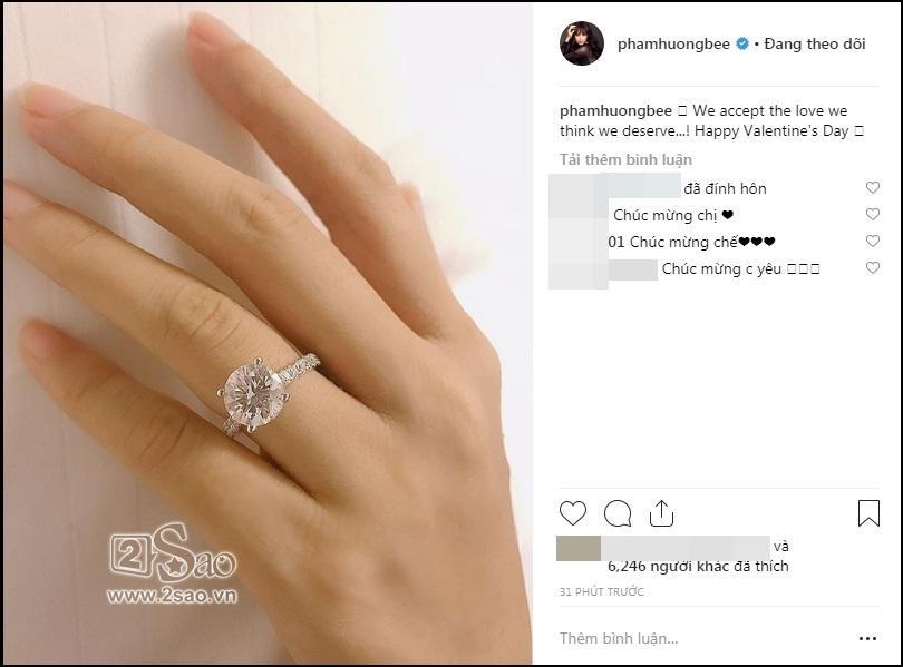 Hoa hậu Phạm Hương công khai đã đính hôn, vậy hôn phu của cô ấy là ai?-2