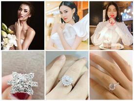 Chỉ trong 1 tháng, showbiz Việt chấn động vì những màn khoe nhẫn kim cương tiền tỷ của Phạm Hương, Hồng Quế, Lan Ngọc