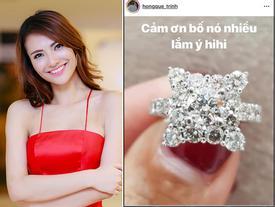 Hồng Quế bị đá xéo ngay trong lễ Valentine dù người khoe nhẫn kim cương 5 tỷ đồng là Phan Thị Mơ