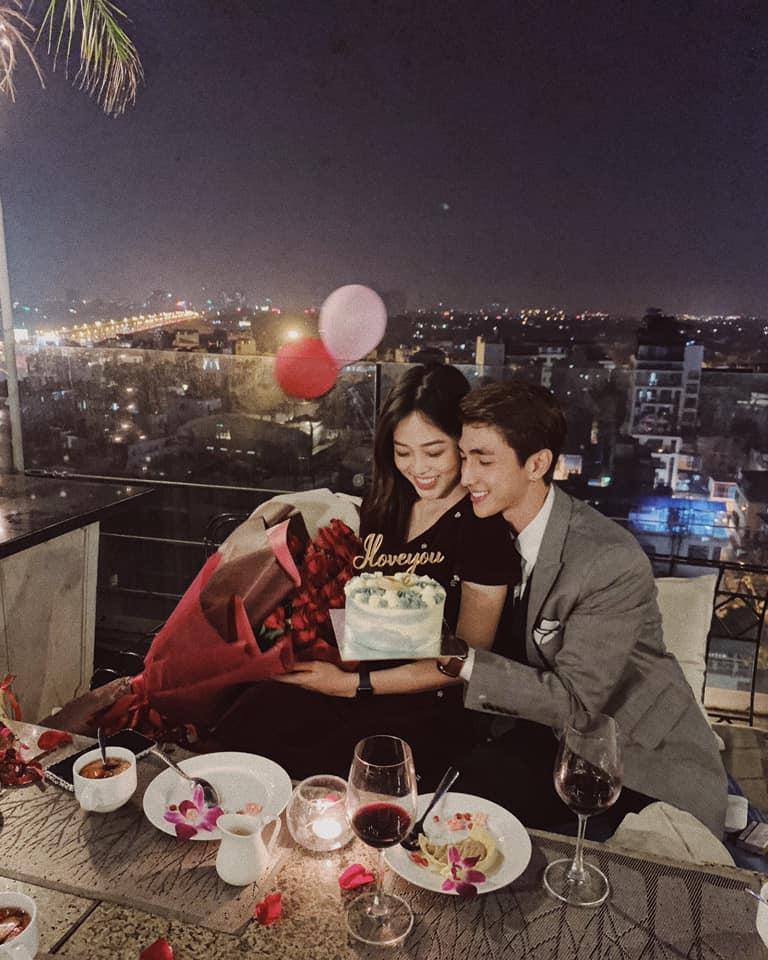 Valentine ngôn tình của Bình An - Bùi Phương Nga: Sáng công khai tình yêu, đêm hẹn hò lãng mạn-7