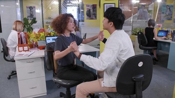 Bình An bất ngờ chạm mặt em gái Lan Ngọc trong tập 14 Mối Tình Đầu Của Tôi-2