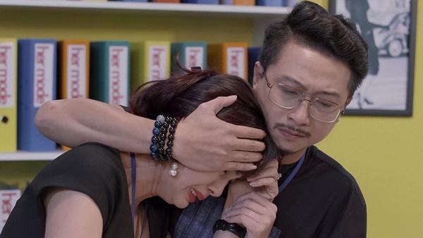 Bình An bất ngờ chạm mặt em gái Lan Ngọc trong tập 14 Mối Tình Đầu Của Tôi-6