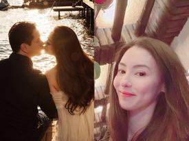 Valentine của sao Hoa ngữ: Ai cũng hạnh phúc bên người yêu, chỉ riêng Trương Bá Chi lại khác biệt