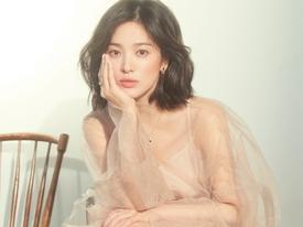 Giữa tin đồn ly hôn, Song Hye Kyo khiến bao người ngất ngây với nhan sắc mỹ miều 'rụng tim'