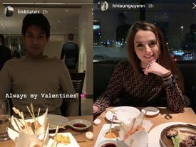 Em chồng Hà Tăng và bạn gái Tây đăng ảnh Valentine ngọt ngào, đập tan tin đồn chia tay
