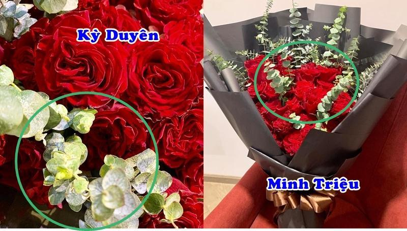 Kỳ Duyên khoe hoa người yêu tặng ngày Valentine, Minh Triệu lập tức bị réo tên vì cũng có quà giống y hệt-6