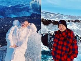 Chụp ảnh check-in cùng địa điểm trong ngày Valentine, Hồ Quang Hiếu - Bảo Anh có vẻ đã tái hợp đường tình