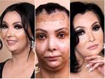 Sức mạnh của nghệ thuật trang điểm: biến người phụ nữ bị hỏng da mặt trở nên quý phái
