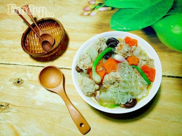 Miến nấu nước dừa ngọt thanh cho bữa sáng cuối tuần thảnh thơi-7