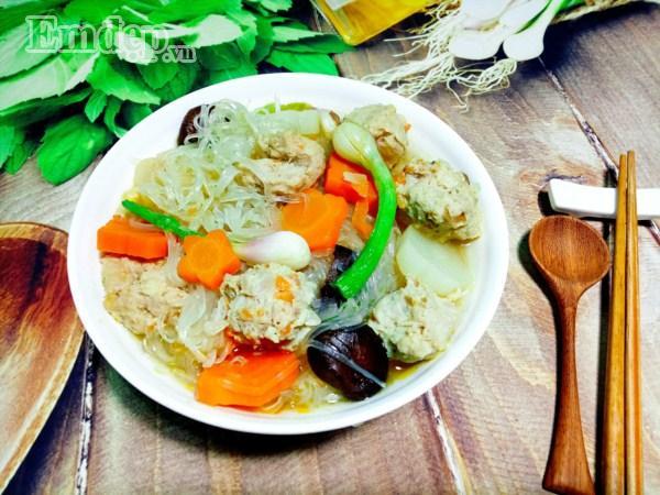 Miến nấu nước dừa ngọt thanh cho bữa sáng cuối tuần thảnh thơi-8