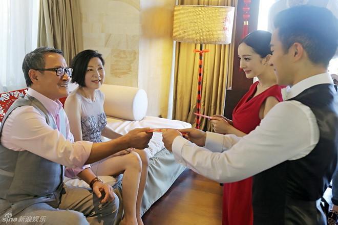 Dương Mịch không thăm con và chúc Tết cha mẹ chồng cũ-2