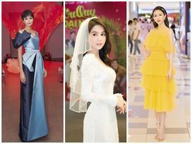 H'Hen Niê đẳng cấp sánh ngang mỹ nhân quốc tế - Ngọc Trinh hóa 'nàng dâu' ĐẸP nhất thảm đỏ tuần qua