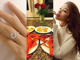 Sau khi xác nhận đính hôn vào ngày Valentine, cuộc sống của hoa hậu Phạm Hương có gì đặc biệt?