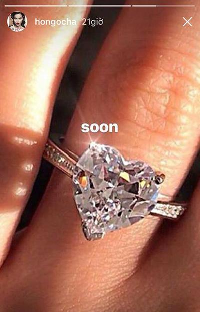 Trước khi Hồng Quế bị ném đá, Hồ Ngọc Hà cũng từng bị nghi mượn ảnh nhẫn kim cương sống ảo-3