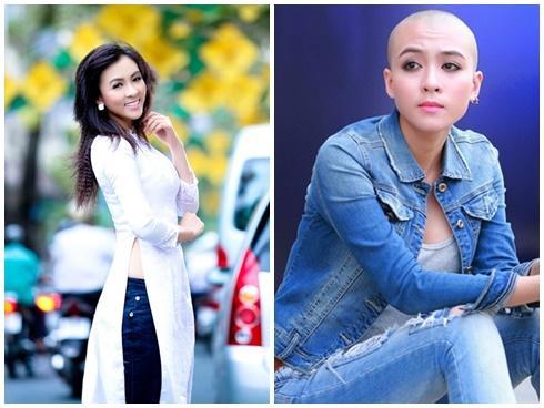 Mỹ nhân gây sốc với mốt cạo trọc đầu: Tiên Tiên khiến fan không nhận ra - Hoa Di Linh vẫn đẹp xuất sắc-6