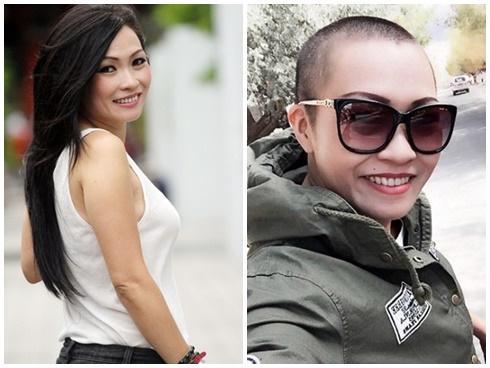 Mỹ nhân gây sốc với mốt cạo trọc đầu: Tiên Tiên khiến fan không nhận ra - Hoa Di Linh vẫn đẹp xuất sắc-5