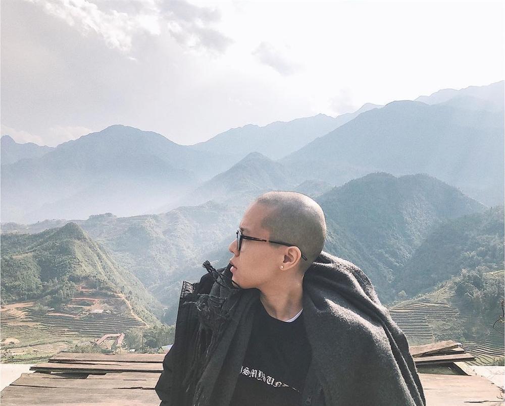 Mỹ nhân gây sốc với mốt cạo trọc đầu: Tiên Tiên khiến fan không nhận ra - Hoa Di Linh vẫn đẹp xuất sắc-1
