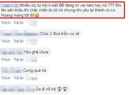 Đăng ảnh đi trốn cùng người tình đồng giới Quang Lâm, BB Trần bị tra tấn bởi câu hỏi: Ai làm vợ?-2