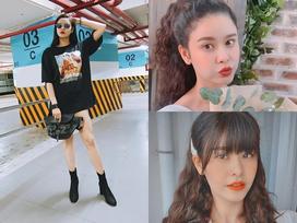 Chăm kẹp tóc điệu đà và diện đồ 'xì tin', ai nghĩ Trương Quỳnh Anh đã làm mẹ 1 con và chạm ngưỡng 30 tuổi?