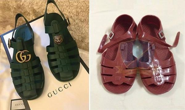 Hết dép rọ bộ đội, Gucci lại tung ra mẫu mũ hơn 10 triệu đồng mà chẳng khác gì nón cói đi biển bán đầy ngoài chợ-9