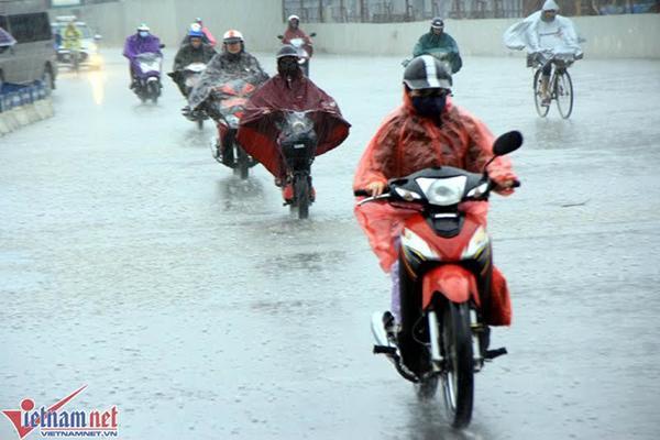 Dự báo thời tiết 18/2: Miền Bắc mưa dông, vùng núi đề phòng mưa đá-1