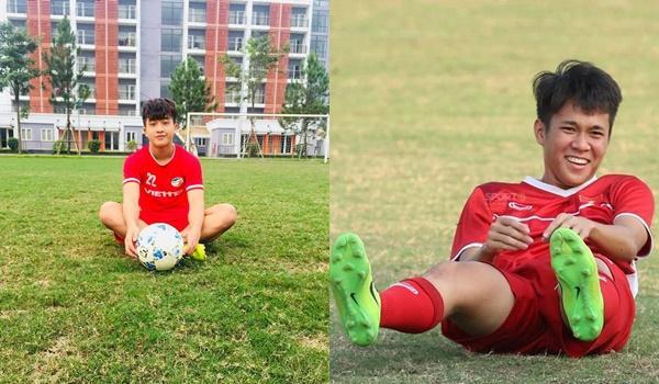 Tạm quên lớp cầu thủ đàn anh, U22 Việt Nam đang gây sốt bởi trai trẻ có ngoại hình đẹp, nhiều tài lẻ-1