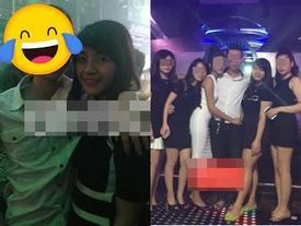 Hết lộ nhan sắc khác lạ, loạt ảnh bạn gái Tư Dũng đi bar bị khui lại làm Khánh Linh mất ngay hình tượng ngoan hiền