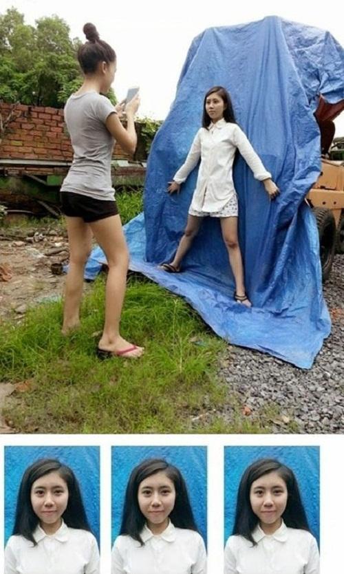 Muôn kiểu chụp ảnh thẻ siêu tiết kiệm, siêu chất lượng mà người trẻ nghĩ ra khi cháy túi-4