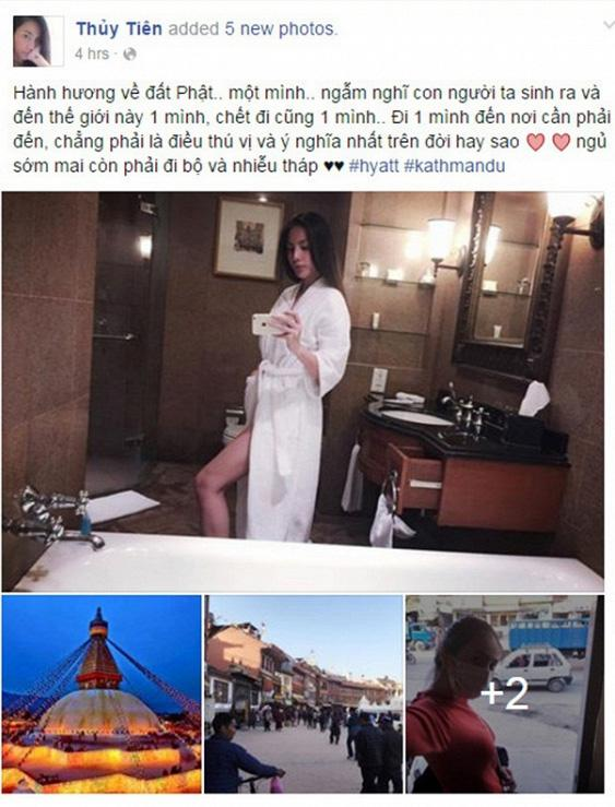 Đâu chỉ giới trẻ, loạt sao Việt cũng bị lên án gay gắt khi ăn mặc phản cảm chốn linh thiêng-11