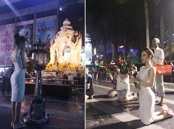 Đâu chỉ giới trẻ, loạt sao Việt cũng bị lên án gay gắt khi ăn mặc phản cảm chốn linh thiêng-6