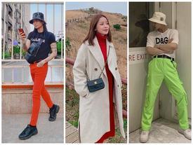 Tóc dài, quần đỏ chót: Ai dám soán ngôi street style nổi bật nhất của BB Trần tuần qua?