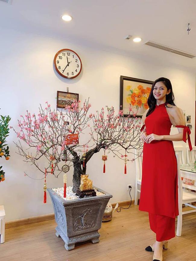 Hơn 2 tháng sau khi kết hôn, gương mặt Á hậu Thanh Tú đang dần phá nét vì mang thai-4