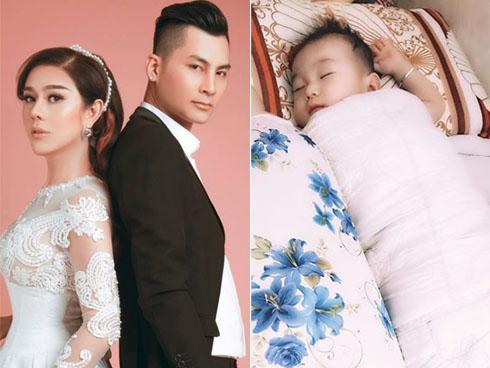 Dù sinh con trai không có liên quan máu mủ với chồng, Lâm Khánh Chi vẫn công khai gật gù: Giống bố-3