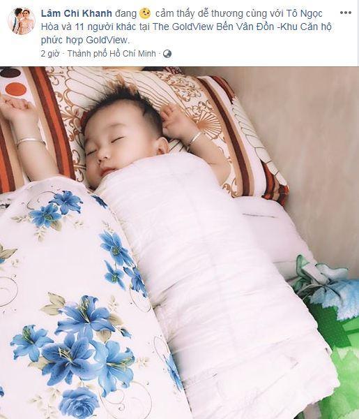 Dù sinh con trai không có liên quan máu mủ với chồng, Lâm Khánh Chi vẫn công khai gật gù: Giống bố-4