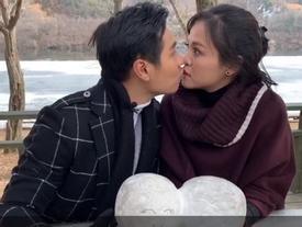 MC Nguyên Khang hôn My 'sói' trên đảo Nami lãng mạn của Hàn Quốc