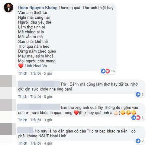 Ốm phờ phạc sau mùa Tết vắt sức chạy show, Hoài Linh vẫn khiến fan bật cười với bài thơ dí dỏm-4